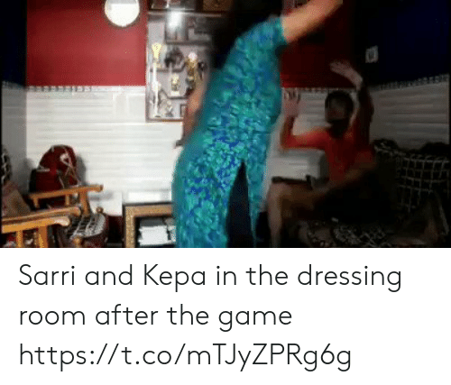 Memes, The Game, and Game: Sarri and Kepa in the dressing room after the game   https://t.co/mTJyZPRg6g
