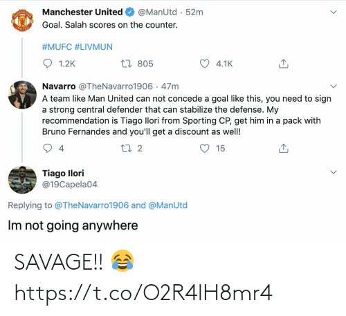 Savage: SAVAGE!! 😂 https://t.co/O2R4lH8mr4