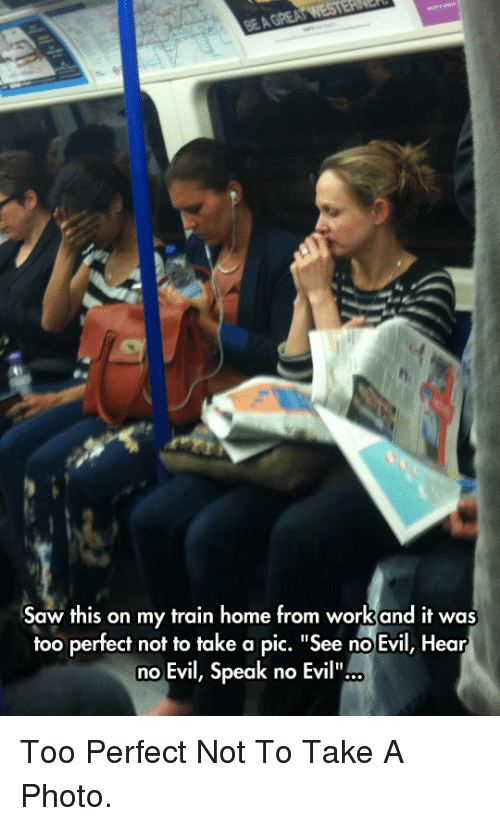"""see no evil: Saw this on my train home from workand it was  too perfect not to take a pic. """"See no Evil, Hear  no Evil, Speak no Evil"""".. <p>Too Perfect Not To Take A Photo.</p>"""