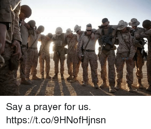 Memes, Prayer, and 🤖: Say a prayer for us. https://t.co/9HNofHjnsn