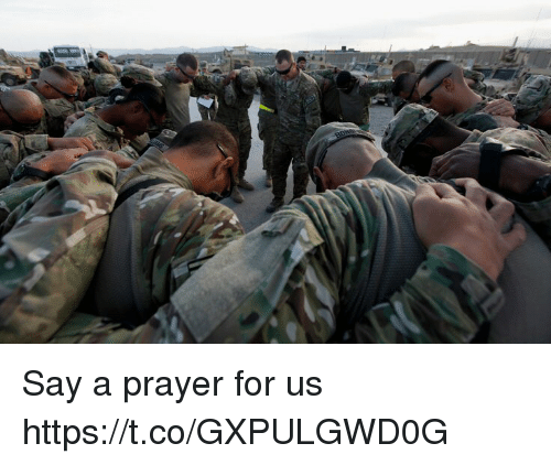 Memes, Prayer, and 🤖: Say a prayer for us https://t.co/GXPULGWD0G