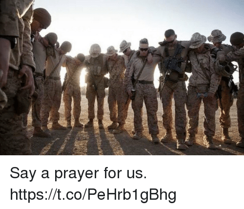 Memes, Prayer, and 🤖: Say a prayer for us. https://t.co/PeHrb1gBhg
