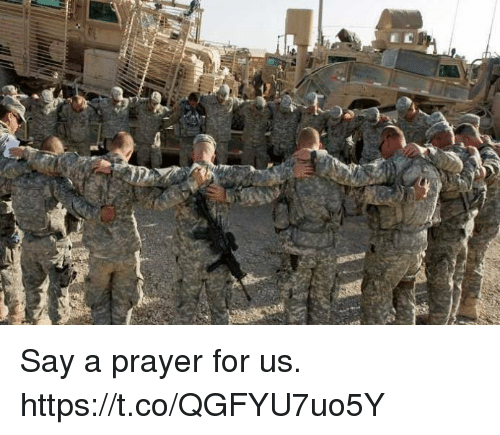 Memes, Prayer, and 🤖: Say a prayer for us. https://t.co/QGFYU7uo5Y