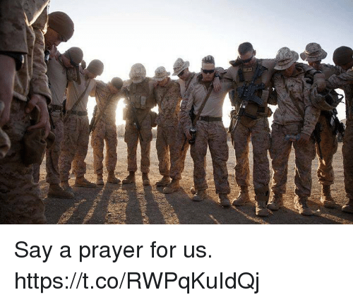 Memes, Prayer, and 🤖: Say a prayer for us. https://t.co/RWPqKuIdQj