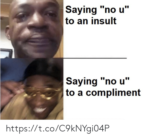 """Memes, 🤖, and No U: Saying """"no u""""  