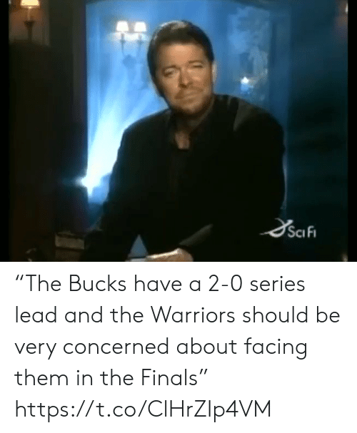 """Finals, Sports, and Warriors: SciFi """"The Bucks have a 2-0 series lead and the Warriors should be very concerned about facing them in the Finals"""" https://t.co/ClHrZIp4VM"""