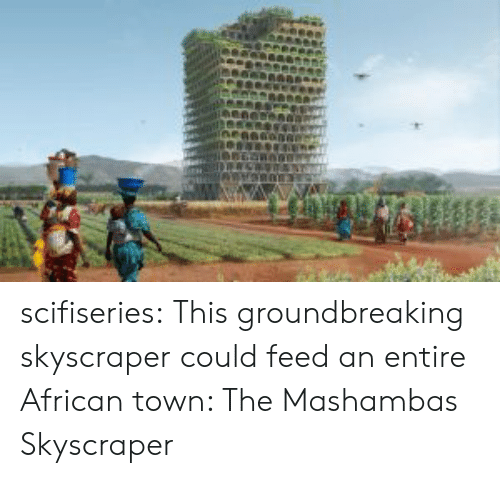 Tumblr, Blog, and Http: scifiseries:  This groundbreaking skyscraper could feed an entire African town: The Mashambas Skyscraper
