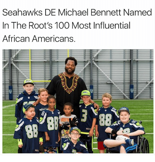 Anaconda, Memes, and Michael Bennett: Seahawks DE Michael Bennett Named  In The Root's 100 Most Influential  African Americans,