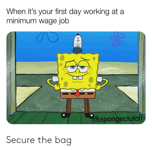 bag: Secure the bag