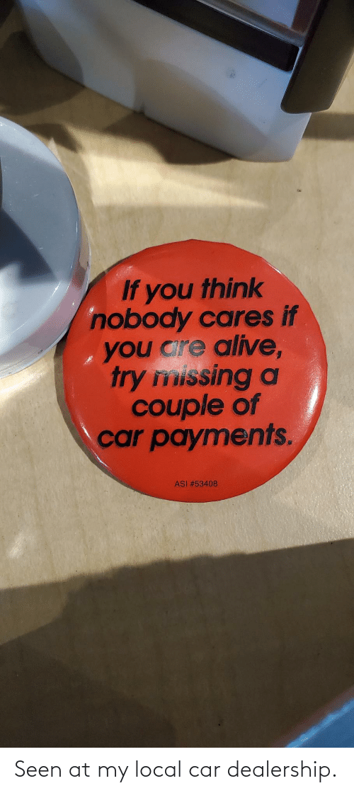 car: Seen at my local car dealership.