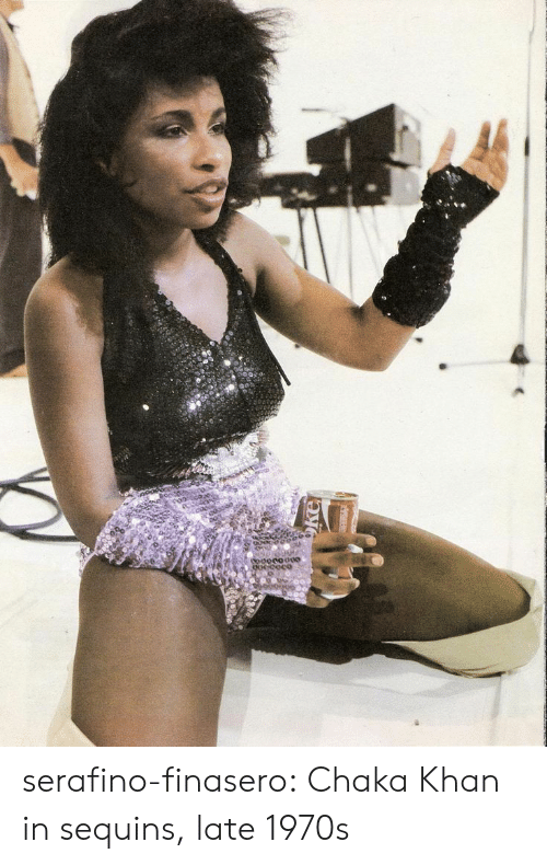 sequins: serafino-finasero:  Chaka Khan in sequins, late 1970s