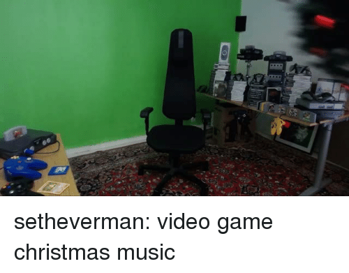 Christmas, Music, and Tumblr: setheverman: video game christmas music
