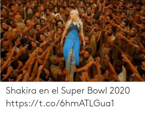 Super Bowl: Shakira en el Super Bowl 2020 https://t.co/6hmATLGua1