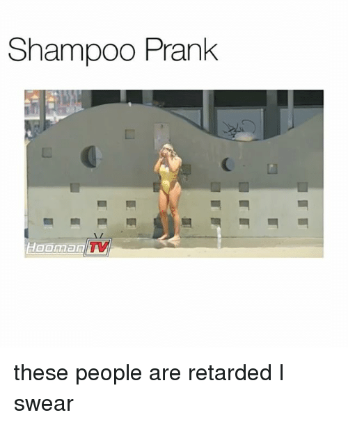 Hoomans: Shampoo Prank  Hooman TV these people are retarded I swear