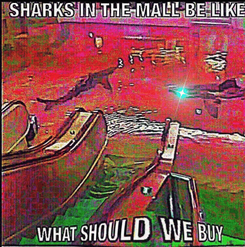Sharks: SHARKS IN THE MALL BELIKE  WHAT SHOULD WE BUY