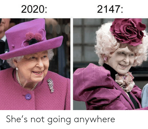 Going: She's not going anywhere