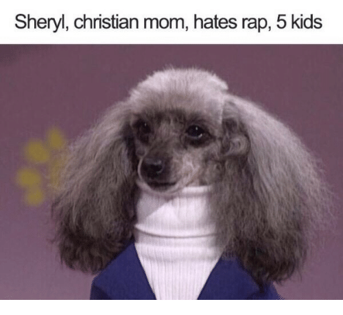 5 Kids: Sheryl, christian mom, hates rap, 5 kids