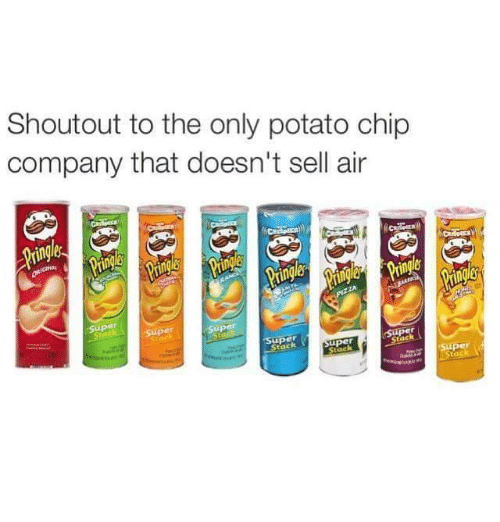 aires: Shoutout to the only potato chip  company that doesn't sell air