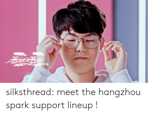 ort: silksthread:  meet the hangzhou spark support lineup !