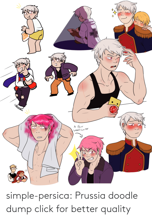 Prussia: simple-persica: Prussia doodle dump click for better quality