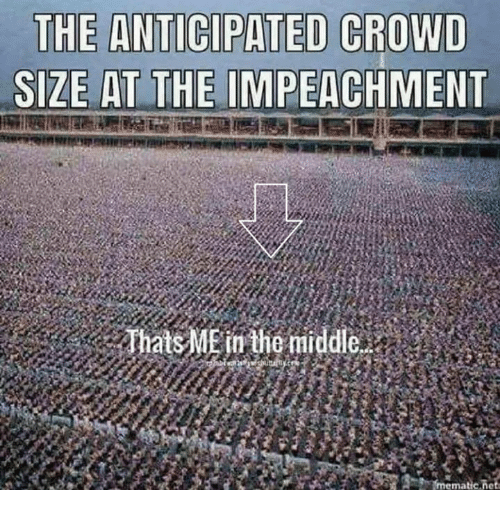 The Middle, Mø, and Impeachment: SIZE AT THE IMPEACHMENT  atsME in the middle  ma