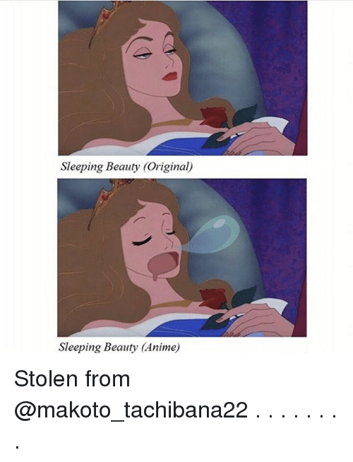 Sleeping Beauty: Sleeping Beauty (Original)  Sleeping Beauty (Anime) Stolen from @makoto_tachibana22 . . . . . . . .
