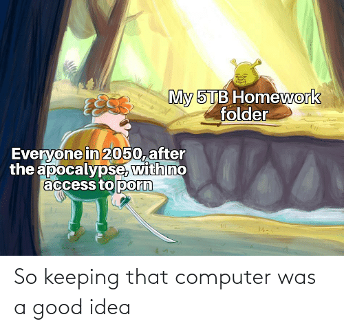 Was: So keeping that computer was a good idea