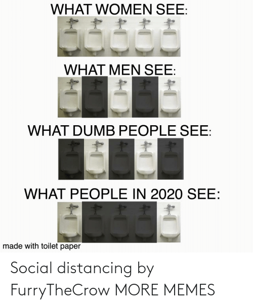 Hilarious: Social distancing by FurryTheCrow MORE MEMES