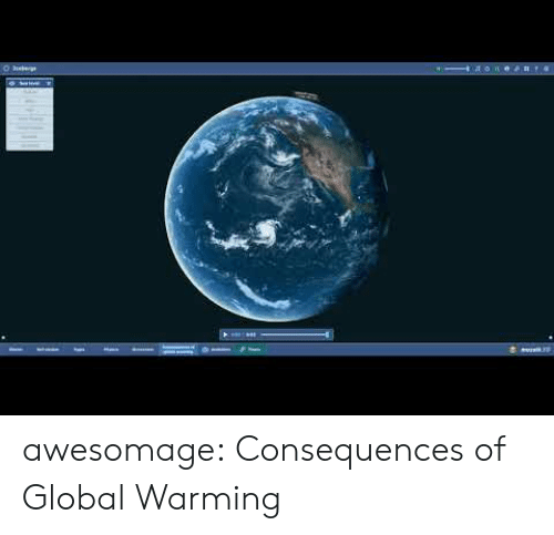 Global Warming, Tumblr, and Blog: soe#t4 awesomage:  Consequences of Global Warming