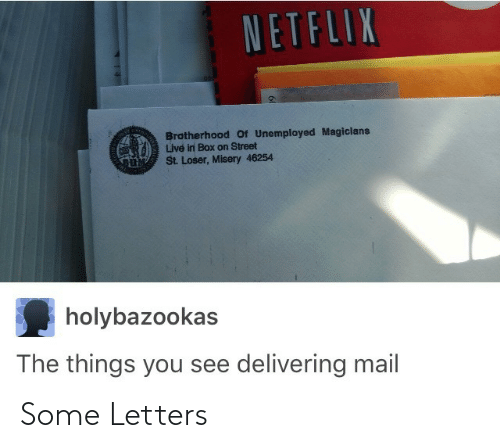 letters: Some Letters