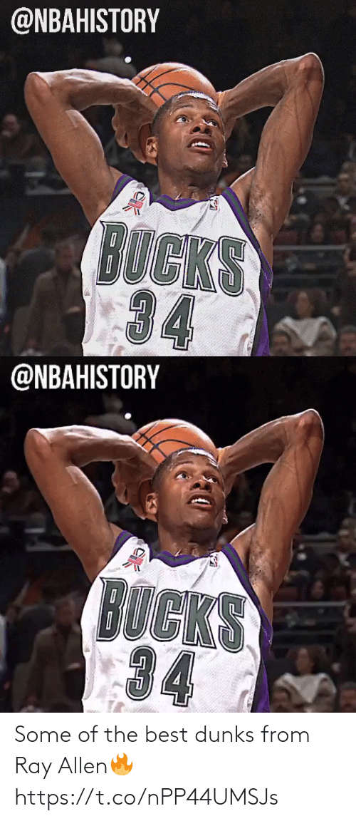 allen: Some of the best dunks from Ray Allen🔥 https://t.co/nPP44UMSJs