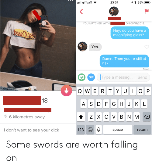 swords: Some swords are worth falling on