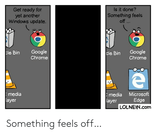 something: Something feels off…
