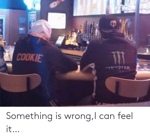 something: Something is wrong,I can feel it…