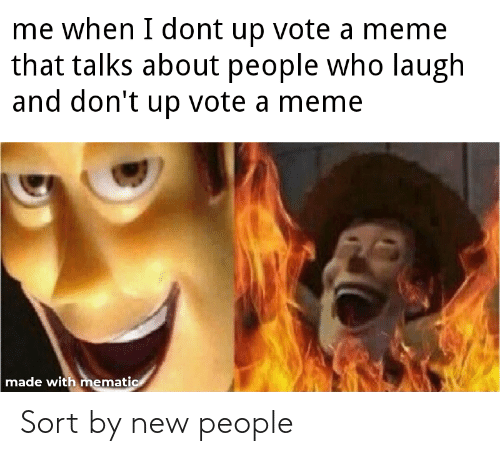 New People: Sort by new people