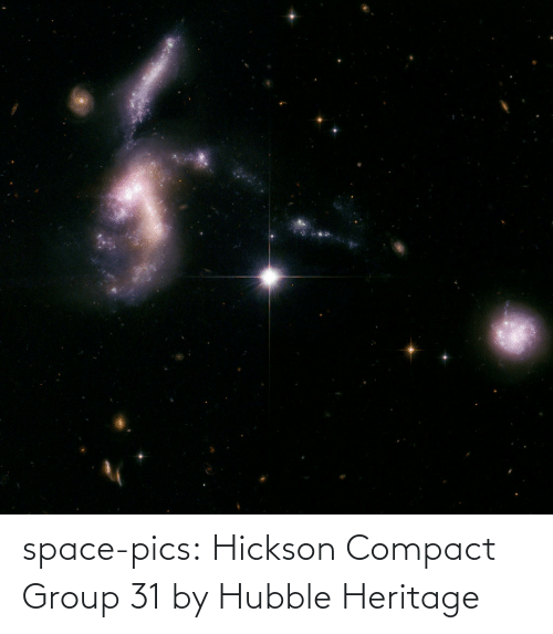 group: space-pics:  Hickson Compact Group 31 by Hubble Heritage