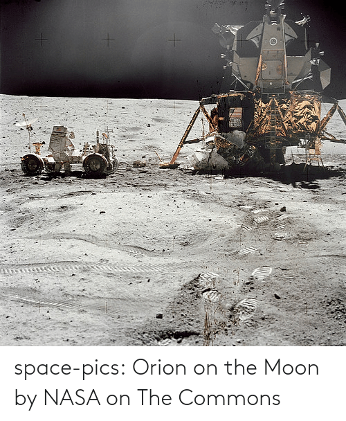 Space: space-pics:  Orion on the Moon by NASA on The Commons