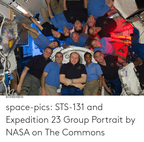 group: space-pics:  STS-131 and Expedition 23 Group Portrait by NASA on The Commons