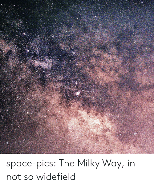 Space: space-pics:  The Milky Way, in not so widefield