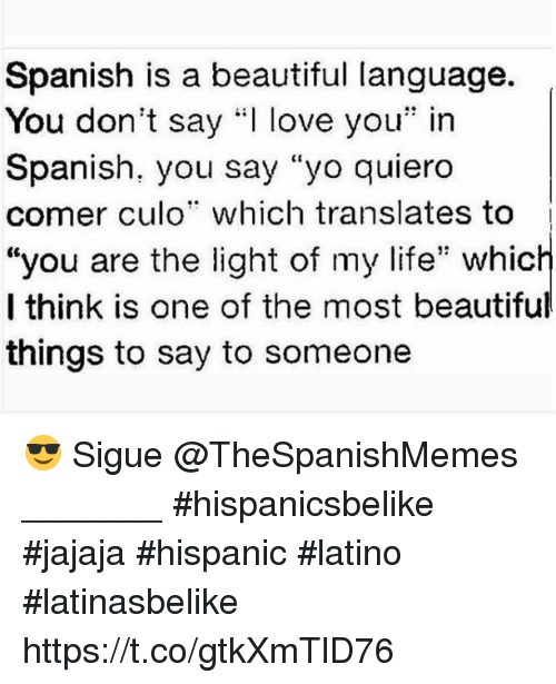 How beautiful you are meaning in spanish