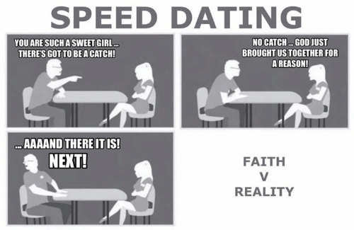 speed dating memes