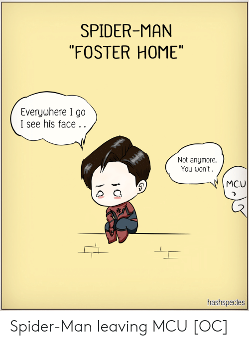 "mcu: SPIDER-MAN  ""FOSTER HOME""