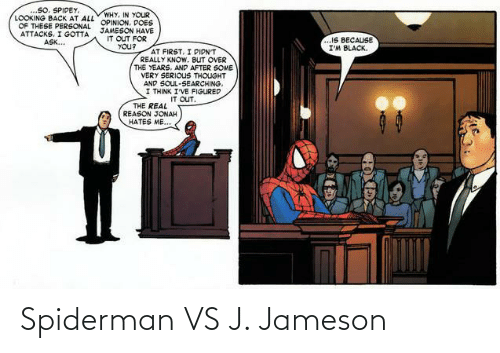 Spiderman: Spiderman VS J. Jameson
