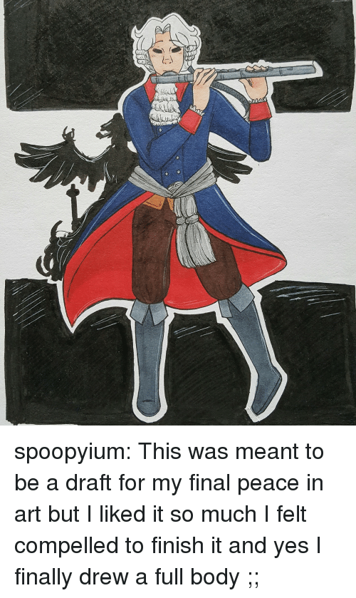 Target, Tumblr, and Blog: spoopyium:  This was meant to be a draft for my final peace in art but I liked it so much I felt compelled to finish it and yes I finally drew a full body ;;