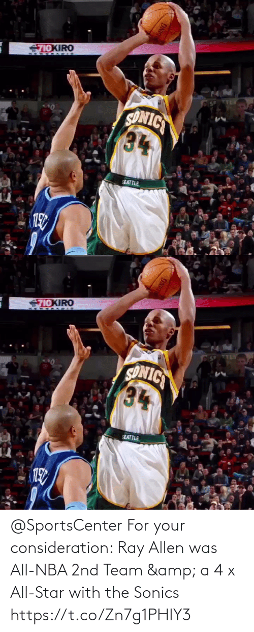 allen: @SportsCenter For your consideration: Ray Allen was All-NBA 2nd Team & a 4 x All-Star with the Sonics  https://t.co/Zn7g1PHIY3