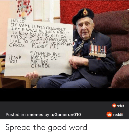 Word: Spread the good word