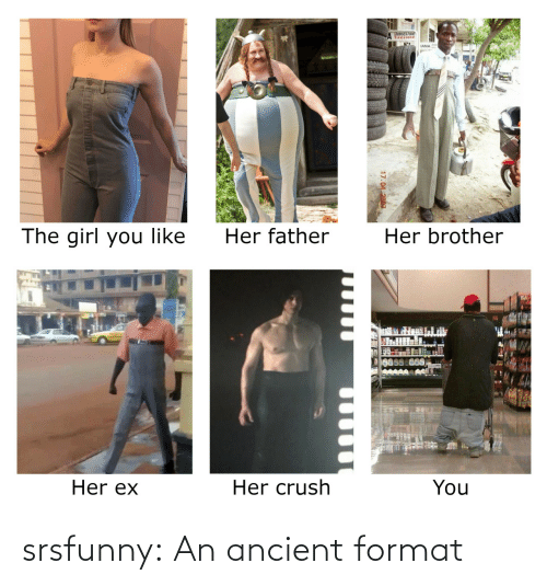 Ancient: srsfunny:  An ancient format