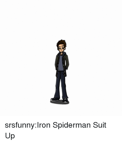 Tumblr, Blog, and Http: srsfunny:Iron Spiderman Suit Up