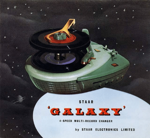 Staar: STAAR  GALAXY  4-SPEED MULTI-RECORD CHANGER  b y STAAR ELECTRONICS LIMITED