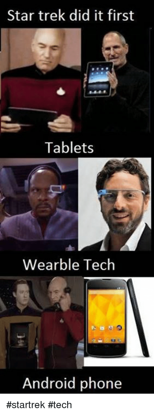 Android, Memes, and Phone: Star trek did it first  Tablets  Wearble Tech  Android phone #startrek #tech